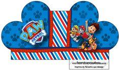 Caixa Cupcake Patrulha Canina--- https://fazendoanossafesta.com.br/2015/05/patrulha-canina-kit-festa-infantil.html/