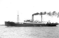 23 maart 1917  Het vrachtschip ss 'Amstelstroom' (1910)   http://koopvaardij.blogspot.nl/2016/03/23-maart-1917.html