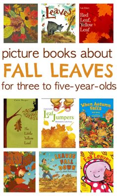 books about fall leaves
