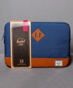 """Neu im Shop: Herschel Heritage Sleeve for 13"""" Macbook in Navy - http://www.numelo.com/herschel-heritage-sleeve-macbook-p-24513564.html #herschel #heritagesleeve #taschen #numelo"""