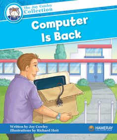 $5.95 Computer Is Back - Part of the Blue Series: The crayons and Pencil want to have a party. Can they get around grumpy Computer?