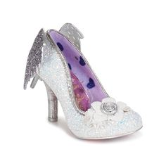 Discover the IRREGULAR CHOICE collection on Spartoo ► Official Distributor ► Wide variety of sizes and styles ✓ Free Delivery and competitive prices Fancy Shoes, Crazy Shoes, Me Too Shoes, Irregular Choice Shoes, White High Heels, Romantic Outfit, All About Shoes, Eclectic Style, Kawaii Fashion