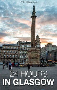 Glasgow, Scotland in 24 hours