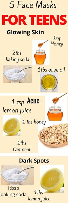 Homemade face mask for teenagers hacks for teens girl should know acne facial fait maison Diy Exfoliating Face Scrub, Diy Face Scrub, Face Diy, Face Face, Diy Acne Face Mask, Diy Mask For Acne, Mask For Face, Face Mask Skin Care, Face Scrub Homemade