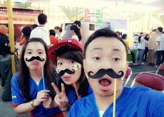 Mustache (((o(*゚▽゚*)o)))