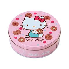 Bourbon Hello Kitty Coco Cookies make a great afternoon tea for all Hello Kitty fans around the world. Itcomes with 6 Hello Kitty Cocoa Cookies, 24 #HelloKitty Little Cocoa Cookies, 12 Tolte Cocoa Coffee Cream Cookies and 12 Tolte Cocoa White Cream Cookies.  Hello Kitty Cookies come in a cute tinthat will be a definite keeperfinishing the cookies.  Producer: Bourbon Country of Production: Japan Size: 20 x 20 x 6cm #Sweets #Japan #Takaski #MadeInJapan
