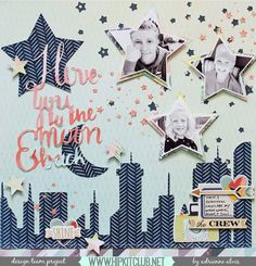Isn't this city skyline layout the perfect 'create a scene' layout? Designer @adriennealvis created this gorgeous layout using the #october2016 #hipkits!! @hipkitclub @dearlizzy #saturday @wermemorykeepers #honeyimhome @maggiehdesign #gather #gathercollection #stars @simplestories_ #posh #hipkitclub #silhouettecameo #cutfiles #skyline #createascene #scrapbookingkitclub #kitclub #papercrafting #scrapbooking