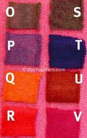 How to Overdye Pink Yarn and Sweaters
