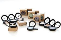 All natural pressed eye shadow $17 #nontoxic #cosmetics #makeup #eyeshadow #marienatie