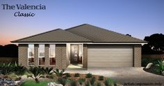 Tullipan Home Designs: The Valencia Classic Facade with Alresco. Visit www.localbuilders.com.au/builders_nsw.htm to find your ideal home design in New South Wales