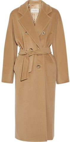 Max Mara - Madame 101801 Wool And Cashmere-blend Coat - Camel