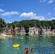 This Turquoise Swimming Hole Near Toronto Is The Perfect Summer Hideout - Narcity Ontario Travel, Swimming Holes, Toronto Canada, Dolores Park, Paradise, Places To Visit, Turquoise, River, Canoeing