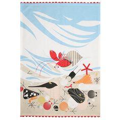 Oldham + Harper Crabitat Dishtowel - Linens - Kitchen & Linens
