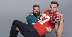 Old Spice Launches Beard Care Line with NFL Bros Travis & Jason Kelce – Men's Hairstyles and Beard Models Jason Kelce, Travis Kelce, Well Groomed Beard, Messy Bob Hairstyles, Men's Hairstyles, Super Bowl Winners, Kansas City Chiefs Football, Kc Football, American Football