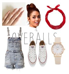 Overalls by india-k-love on Polyvore featuring polyvore, fashion, style, Converse, New Look, clothing, TrickyTrend and overalls