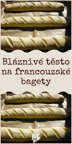 Czech Recipes, Ethnic Recipes, Yami Yami, Mousse Cake, Ciabatta, Hot Dog Buns, Baking Recipes, Sweet Recipes, Ham