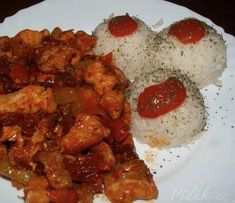 Ricotta, Chicken, Meat, Ethnic Recipes, Red Peppers, Cubs, Kai
