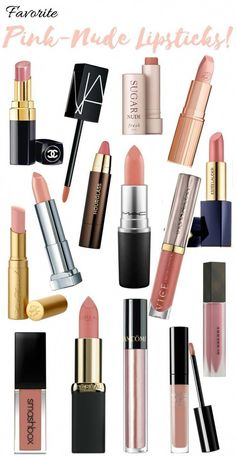 Favorite pink-nude lipsticks! #LipstickDupes Lipsense Lip Colors, Lip Gloss Colors, Lip Colour, Best Lipsticks, Pink Lipsticks, Lipstick Dupes, Lipstick For Fair Skin, Brown Lipstick, Long Hair Tips