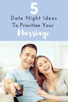 5 Date Night Ideas to Prioritize Your Marriage