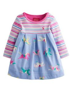 Buy Baby Joule Haley Horse Dress, Blue/Pink from our Baby & Toddler Dresses & Skirts range at John Lewis & Partners. Little Girl Outfits, Toddler Girl Outfits, Baby & Toddler Clothing, Toddler Dress, Kids Outfits, Kids Clothing, Joules Baby Girl, Joules Girls, Boys And Girls Clothes