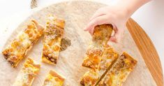 Hidden Veggie Pizza Bread, a great easy recipe for kids and picky eaters, a healthy snack or kid-friendly meal