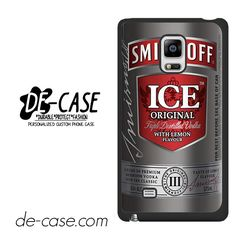 Smirnoff Ice Original DEAL-9731 Samsung Phonecase Cover For Samsung Galaxy Note Edge