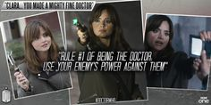 Clara, you make a mighty fine Doctor | Larkable.com