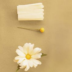 Loving this tutorial by Martha Stewart. It shows you step by step how to make your own crepe paper flower