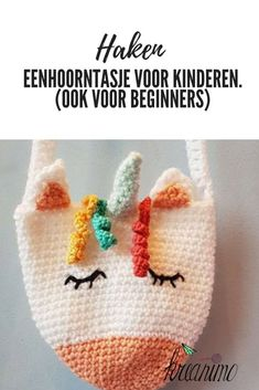 Crochet Purses A free crochet pattern for a unicorn bag! It's easy, so beginners can crochet it too! - This lovely and free unicorn bag pattern is very easy to crochet. It wil make some kids smile! Please link back if you write about this project too! Purse Patterns Free, Crochet Purse Patterns, Free Pattern, Crochet Unicorn Pattern Free, Crochet For Kids, Diy Crochet, Crochet Baby, Learn Crochet, Crochet Dolls