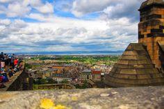 Edinburgh, view from Edinburgh Castle  Photo by: Katarzyna Pracuch