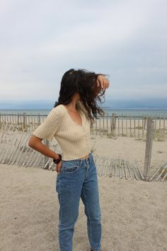 Butter cropped top