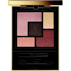 Yves Saint Laurent Eye Couture Palette Contouring (250 RON) ❤ liked on Polyvore featuring beauty products, makeup, eye makeup, eyeshadow, apparel & accessories, yves saint laurent and palette eyeshadow