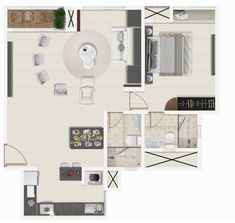 Let's have quick glance of 2 BHK Progressive Layouts of Vario Homes. Newly Married, Apartments For Sale, Layouts, Floor Plans, Homes, Wall, Houses, Home, Floor Plan Drawing