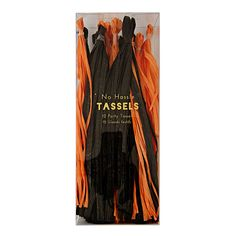 Love these Halloween Party Tassels. Add them to the ghost tassels and they are the perfect combo!!
