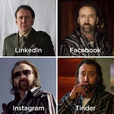 Nicolas Cage, Facebook Instagram, Fictional Characters, Fantasy Characters