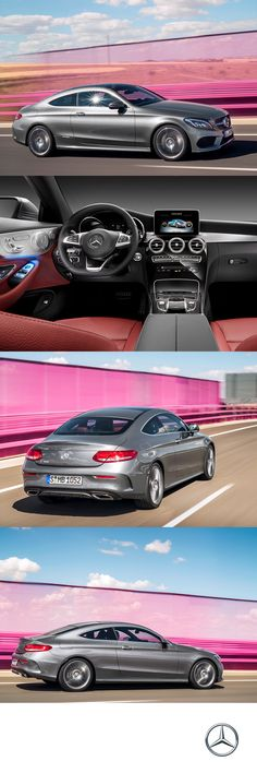 The all-new C-Class Coupe is an example of sport finesse at its finest.