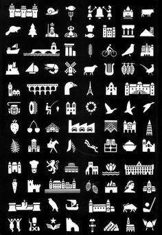 Jean Widmer – Index Grafik Flat Design Icons, Icon Design, Georges Pompidou, Pixel Animation, Type Posters, Information Design, Design Poster, Silhouette Portrait, Design Graphique