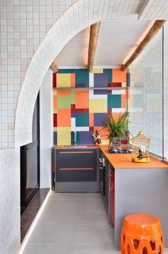 Cozinha do Casal de Artistas Carioca - Ana Lucia Martins e Denis de Freitas