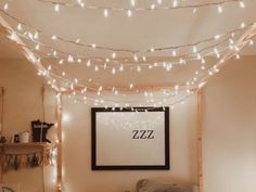Fairy light decor ideas can instantly transform your dorm from a space that makes you feel blah into a cozy den of comfort. To help you out, here are 12 fairy light decor ideas for your dorm room that you need to try now! Bedside Lighting, Bedroom Lighting, Bedroom Decor, Bedroom Ideas, Hanging Lights Bedroom, White Lights Bedroom, Dorm Lighting, Bathroom Lighting Design, Bedroom Inspiration