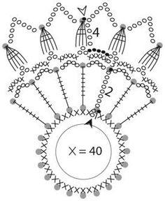 Crochet Snowflake Pattern, Crochet Motif Patterns, Crochet Snowflakes, Crochet Ball, Crochet Dollies, Crochet Flowers, Crochet Christmas Ornaments, Christmas Crochet Patterns, Christmas Snowflakes