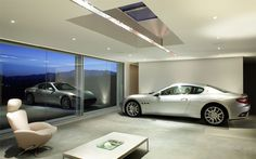 Wish I could have a car garage like this!