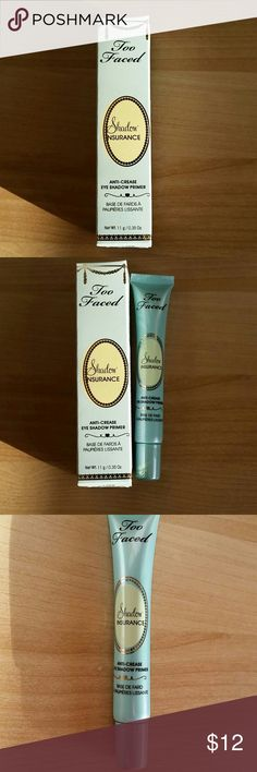 Too faced eyeshadow primer Too faced  anti-crease eyeshadow primer, 0.35 oz. Sephora Makeup Eye Primer