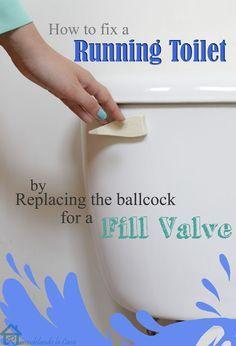 Remodelando la Casa: How to Fix a Running Toilet