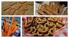 DIY easy, healthy & tasty salty snacks