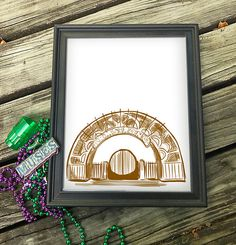 """Armstrong Park NOLA Wall Art 