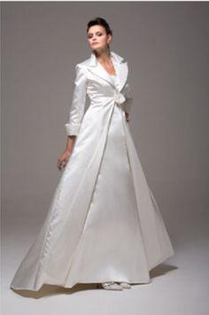abrigos para novias
