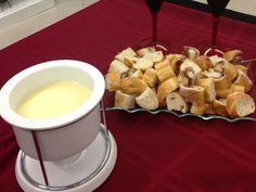 Imagem da receita Fondue de queijo barato e fácil