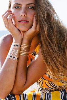 1000 images about lulu dk tattoos 2015 metallic fashion jewelry on