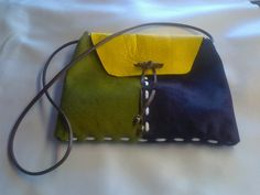Bolsos de colgar - bolsos cuero en distintos colores - hecho a mano por Turuta en DaWanda
