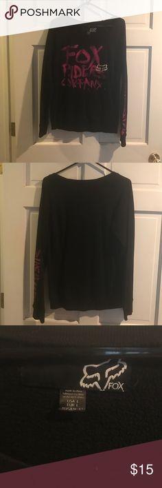 Fox scoopneck sweater Fox scoopneck sweater Fox Tops Sweatshirts & Hoodies